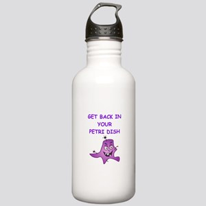 biology joke Water Bottle