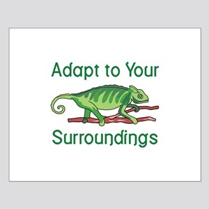 ADAPT TO SURROUNDINGS Posters