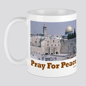 Jerusalem Pray for Peace Mug