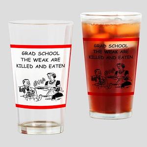 grad student Drinking Glass