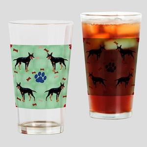 Kelpie Drinking Glass