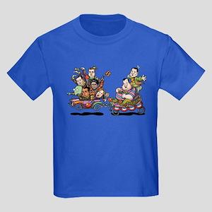Clown Car 5-15 Kids Dark T-Shirt