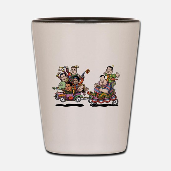 Clown Car 5-15 Shot Glass