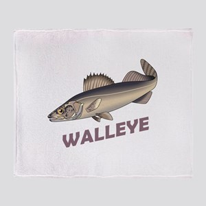 WALLEYE Throw Blanket