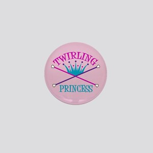 Twirling Princess Mini Button
