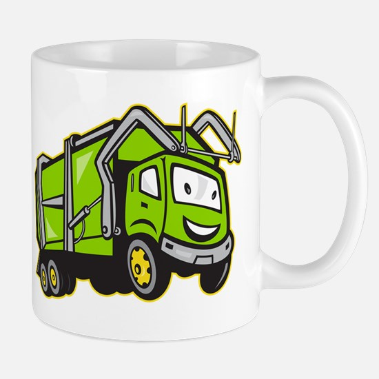 Rubbish Truck Mug