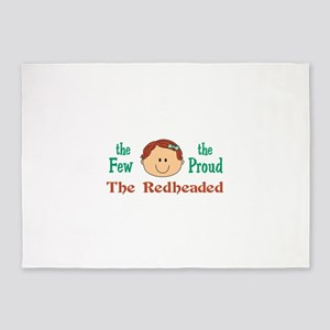 THE FEW THE PROUD 5'x7'Area Rug