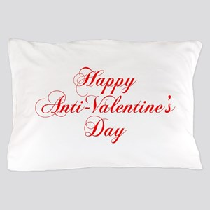Happy Anti Valentines Day-cho red Pillow Case