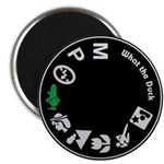 """What the Duck: Dial 2.25"""" Magnet (10 pack)"""