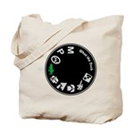 What the Duck: Dial Tote Bag