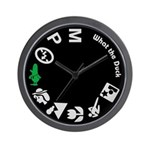 What the Duck: Dial Wall Clock