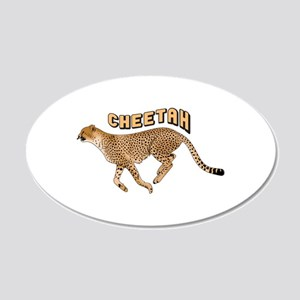 CHEETAH ANIMAL Wall Decal