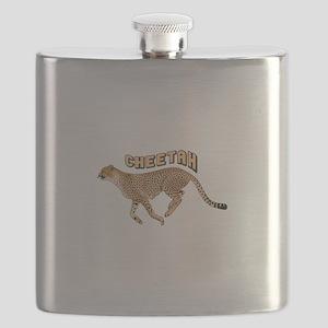 CHEETAH ANIMAL Flask