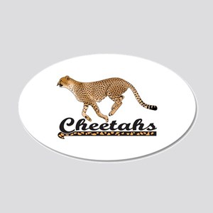 CHEETAHS Wall Decal