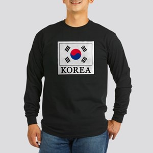 Korea Long Sleeve T-Shirt