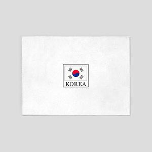 Korea 5'x7'Area Rug