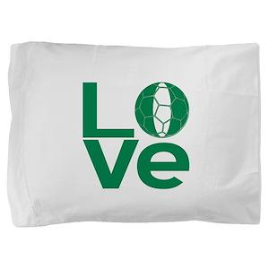 Nigerian LOVE Soccer Pillow Sham