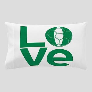 Nigerian LOVE Soccer Pillow Case