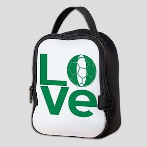 Nigerian LOVE Soccer Neoprene Lunch Bag