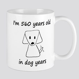 80 dog years 6 Mugs