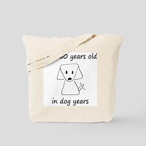 80 dog years 6 Tote Bag