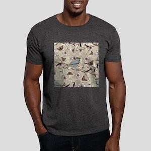 Birds and Butterflies Dark T-Shirt