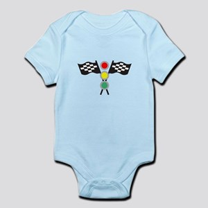 RACING FLAGS AND LIGHTS Body Suit