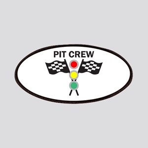 CAR RACING PIT CREW Patches