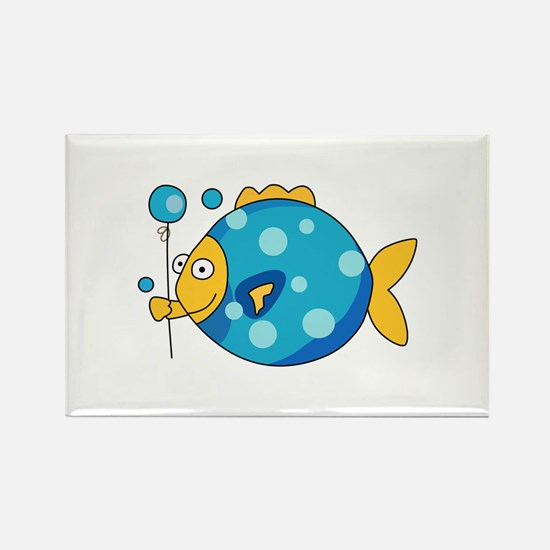 Fish With Balloon Magnets