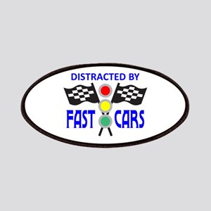 DISTRACTED BY FAST CARS Patches