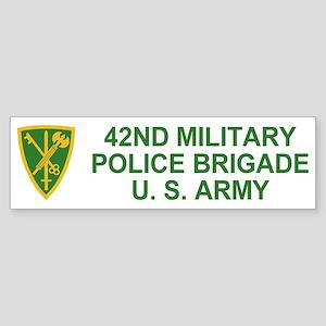 42nd MP Brigade <BR>Bumper Sticker