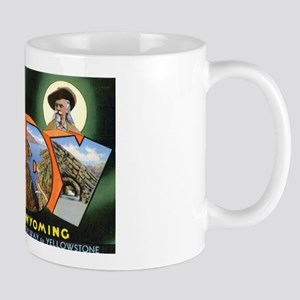 Cody Wyoming Greetings Mug