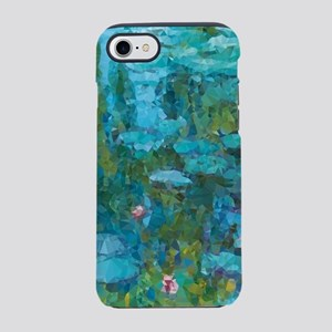 Monet Water Lilies Low Poly iPhone 7 Tough Case
