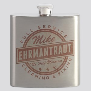 Retro Mike Ehrmantraut Cleaner Flask