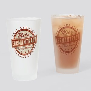Retro Mike Ehrmantraut Cleaner Drinking Glass