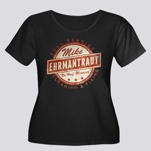 Retro Mike Ehrmantraut Cleaner Plus Size T-Shirt
