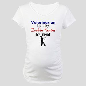 Veterinarian By Day Zombie Hunter By Night Materni