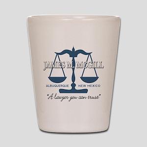 James McGill Lawyer Shot Glass