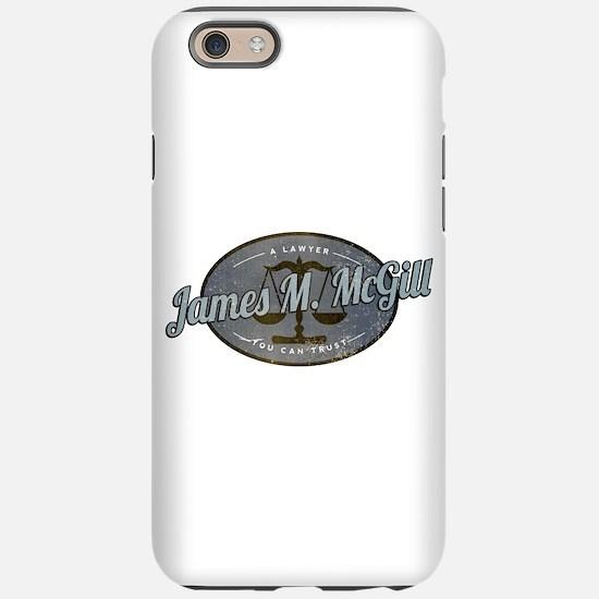 James McGill Lawyer Retro iPhone 6 Tough Case