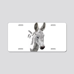 The mini donkey wendy woo woo Aluminum License Pla