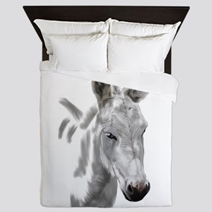 The mini donkey wendy woo woo Queen Duvet