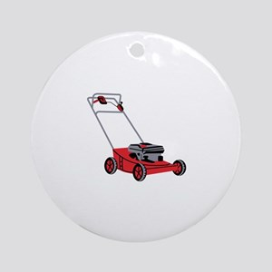 LAWN MOWER Ornament (Round)