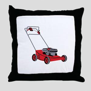 LAWN MOWER Throw Pillow
