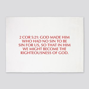 2 Cor 5 21 God made him who had no sin to be sin f