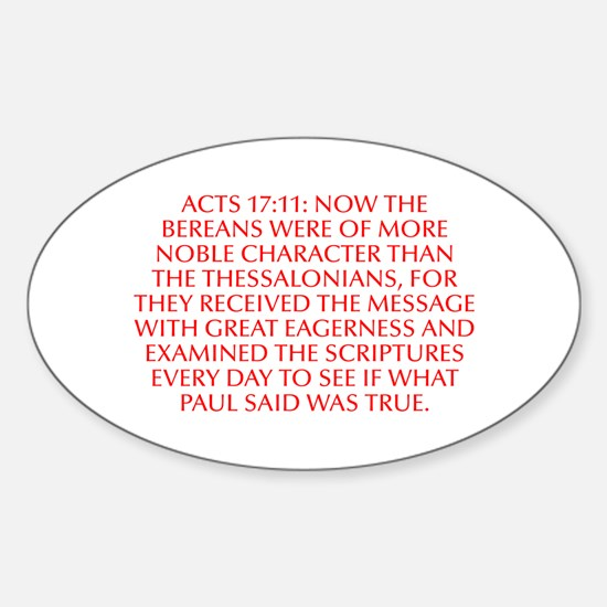 Acts 17 11 Now the Bereans were of more noble char