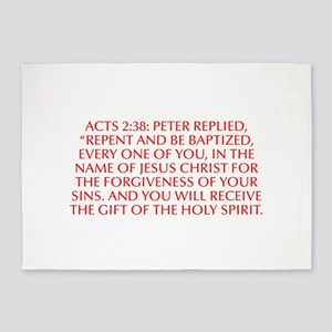 Acts 2 38 Peter replied Repent and be baptized eve