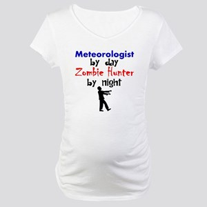 Meteorologist By Day Zombie Hunter By Night Matern