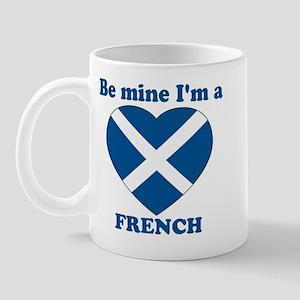 French, Valentine's Day Mug