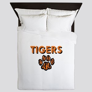 TIGERS AND PAW Queen Duvet