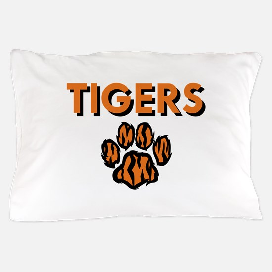 TIGERS AND PAW Pillow Case